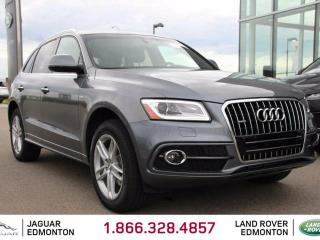 Used 2016 Audi Q5 2.0T quattro Technik - Local One Owner Trade In | No Accidents | 3M Protection Applied | Heated Front/Rear Seats | Dual Zone Climate Control with AC | Power Liftgate | Panoramic Sunroof | Bluetooth | Rear Parking Sensors | Blind Spot Monitor | Memory Seat for sale in Edmonton, AB