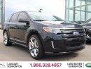 Used 2011 Ford Edge Sport - Local Alberta Trade In | No Accidents | Heated Leather Seats | 2 Tone Leather Interior | Panoramic Sunroof | Navigation | Back Up Camera | Parking Sensors | 22 Inch Wheels | Bluetooth | Dual Zone Climate Control with AC | Well Looked After for sale in Edmonton, AB