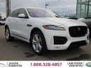 Used 2017 Jaguar F-PACE 35t R-Sport - CPO 6yr/160000kms manufacturer warranty included until July 29, 2022! CPO rates starting at 2.9%! Local One Owner Trade In | No Accidents | 3M Protection Applied | Upgraded Navigation Screen | Lane Keep Aid | Reverse Traffic/Blind Spot/Closi for sale in Edmonton, AB