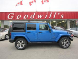 Used 2016 Jeep Wrangler SAHARA! NAVIGATION! for sale in Aylmer, ON