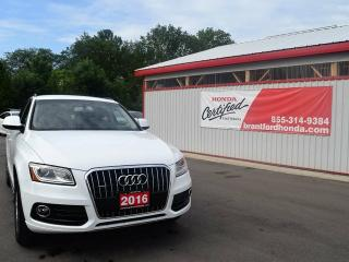 Used 2016 Audi Q5 2.0T Komfort 4dr All-wheel Drive quattro Sport Utility for sale in Brantford, ON