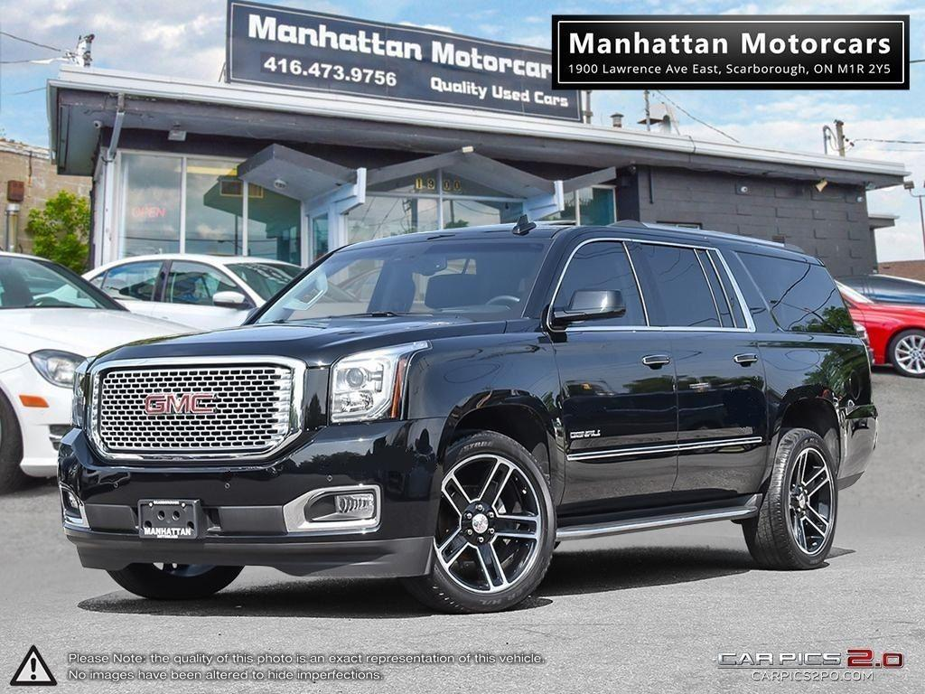 used 2016 gmc yukon xl denali 4x4 nav camera dvd headsup blindspot for sale in scarborough. Black Bedroom Furniture Sets. Home Design Ideas