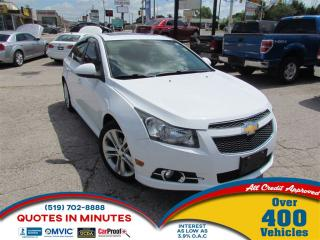 Used 2012 Chevrolet Cruze LTZ | TURBO | RS PACKAGE | LEATHER | ROOF for sale in London, ON