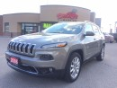Used 2016 Jeep Cherokee Limited V6 ENGINE POWER HATCH, MEMORY SEATING for sale in Scarborough, ON