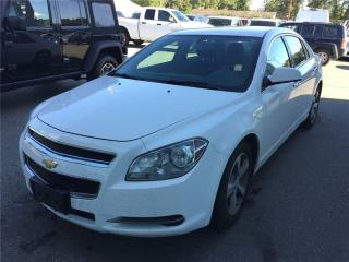 Used 2012 Chevrolet Malibu LT for sale in Coquitlam, BC