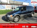 Used 2003 Pontiac Montana SE  AS TRADED *UNCERTIFIED* for sale in St Catharines, ON