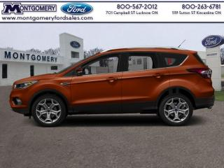 New 2017 Ford Escape Titanium  - Leather Seats -  Bluetooth for sale in Kincardine, ON