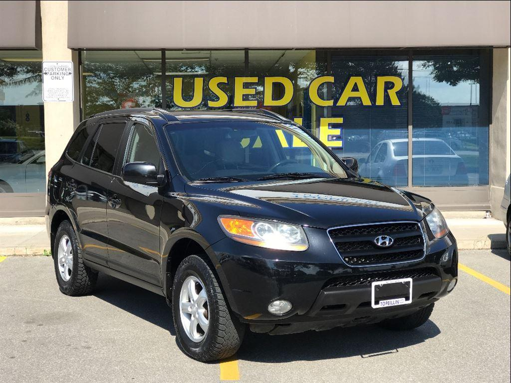 used 2009 hyundai santa fe gl 3 3l awd 1 owner only 172k for sale in concord ontario. Black Bedroom Furniture Sets. Home Design Ideas