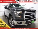 Used 2015 Ford F-150 XTR| BACK UP CAMERA| 4X4| POWER SEAT| for sale in Burlington, ON