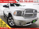 Used 2015 Dodge Ram 1500 Laramie| SUNROOF| NAVI| ECO DIESEL| for sale in Burlington, ON