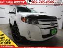 Used 2014 Ford Edge SEL| DUAL SUNROOF| NAVI| LEATHER| for sale in Burlington, ON