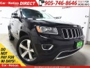 Used 2015 Jeep Grand Cherokee Limited| LEATHER| SUNROOF| NAVI| for sale in Burlington, ON