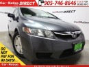 Used 2009 Honda Civic DX-G| WE WANT YOUR TRADE| LOCAL TRADE| for sale in Burlington, ON