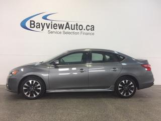 Used 2017 Nissan Sentra SR- TURBO! LEATHER! NAV! REV CAM! BSA! BOSE! for sale in Belleville, ON