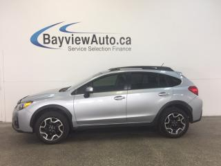 Used 2016 Subaru XV Crosstrek TOURING- AWD! REM START! HEATED SEATS! REV CAM! for sale in Belleville, ON