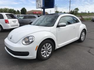 Used 2014 Volkswagen Beetle 1.8 TSI Comfortline Power sunroof! for sale in Brantford, ON