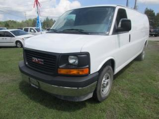 Used 2017 GMC Savana 3/4 TON WORK READY CARGO MOVER 2 PASSENGER 4.8L - V8.. EXT-CARGO.. TOW SUPPORT.. AIR CONDITIONING.. CD/AUX INPUT.. for sale in Bradford, ON