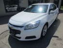 Used 2016 Chevrolet Malibu LOADED LT MODEL 5 PASSENGER 2.5L - ECO-TEC.. LEATHER TRIM.. BACK-UP CAMERA.. POWER SUNROOF.. BLUETOOTH SYSTEM.. ECO-BOOST.. for sale in Bradford, ON