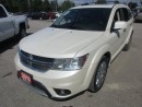 Used 2013 Dodge Journey LOADED R/T MODEL 5 PASSENGER 3.6L - V6.. AWD.. LEATHER.. HEATED SEATS.. BACK-UP CAMERA.. POWER SUNROOF.. CD/AUX/USB INPUT.. for sale in Bradford, ON
