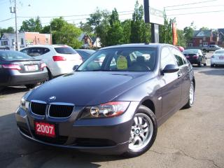 Used 2007 BMW 3 Series 323i for sale in Kitchener, ON
