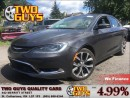 Used 2016 Chrysler 200 C | 3.6L| PANOROOF | NAV |LEATHER for sale in St Catharines, ON