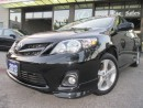 Used 2013 Toyota Corolla S-NAVIGATION-LEATHER-SUNROOF-BLUETOOTH for sale in Scarborough, ON