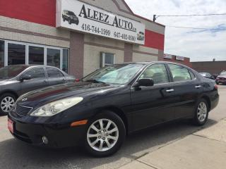 Used 2006 Lexus ES 330 Black on Beige ,  smooth ride for sale in North York, ON