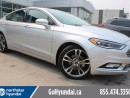 Used 2017 Ford Fusion Titanium Nav Roof Leather Low KMS for sale in Edmonton, AB