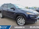 Used 2016 Jeep Cherokee Limited V6 Leather Nav for sale in Edmonton, AB