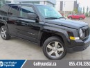 Used 2016 Jeep Patriot HIGH ALTITUDE LEATHER SUNROOF BACK UP CAMERA for sale in Edmonton, AB