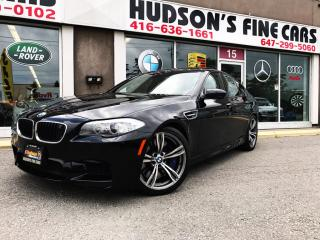 Used 2013 BMW M5 HEASD UP+NAVI+LANE ASSIS+NIGHT VISION for sale in North York, ON
