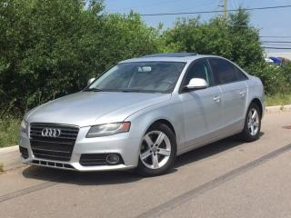 Used 2009 Audi A4 2.0T Quattro **FINANCING AVAILABLE** for sale in Brampton, ON