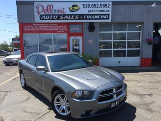 Used 2011 Dodge Charger SXT PLUS|SUNROOF|ALLOYS|NO ACCIDENTS for sale in London, ON