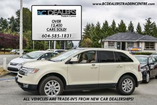Used 2007 Ford Edge SEL Plus AWD, No Accidents, Loaded, Leather, Clean for sale in Surrey, BC