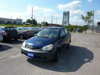 Used 2005 Toyota Echo SEDAN,LOW MILEAGE for sale in Kitchener, ON