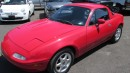Used 1990 Mazda Miata MX-5 2 tops, air, automatic for sale in Chatsworth, ON