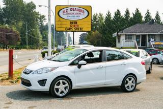 Used 2012 Ford Fiesta SE, Very Low Km's, No Accidents, Bluetooth, Alloys for sale in Surrey, BC