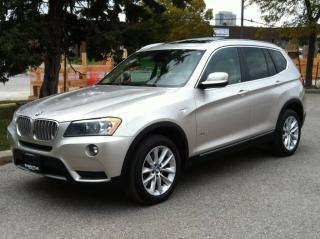Used 2013 BMW X3 35i EXECUTIVE- NAV|PHONE|PANO|NO ACCIDENTS for sale in Scarborough, ON