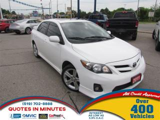 Used 2011 Toyota Corolla XRS | SUNROOF | BLUETOOTH | ALLOYS for sale in London, ON