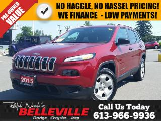 Used 2015 Jeep Cherokee one Owner - Heated Seats - Remote Start - Bluetoot for sale in Belleville, ON