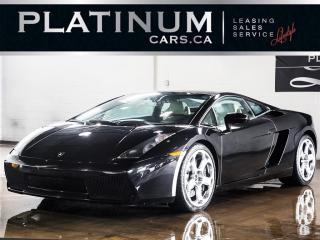 Used 2004 Lamborghini Gallardo E-GEAR, AWD, LEATHER for sale in North York, ON