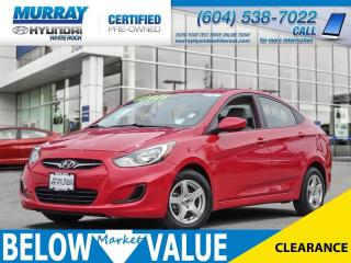 Used 2012 Hyundai Accent GL**POWERGROUP** for sale in Surrey, BC