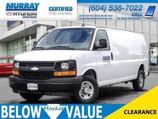 Used 2017 Chevrolet Express 2500 1WT**A/C**OnStar** for sale in Surrey, BC