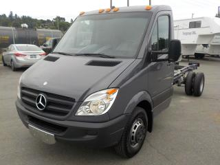 Used 2012 Mercedes-Benz Sprinter 3500 Dually Diesel 14 Foot Cab & Chassis for sale in Burnaby, BC