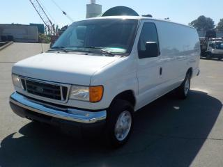 Used 2006 Ford Econoline E-350 Super Duty Extended Cargo Van Diesel for sale in Burnaby, BC