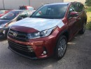 New 2017 Toyota HIGHLANDER XLE V6 AWD SE PACKAGE for sale in Kentville, NS