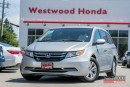 Used 2014 Honda Odyssey EX - Local, Accident Free, Powertrain Warranty til for sale in Port Moody, BC