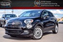 Used 2016 Fiat 500X Lounge|Pano Sunroof|Backup Cam|Bluetooth|R-Start|Leather|18