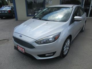 Used 2015 Ford Focus POWER EQUIPPED SE MODEL 5 PASSENGER 2.0L - DOHC.. SYNC TECHNOLOGY.. BACK-UP CAMERA.. BLUETOOTH SYSTEM.. for sale in Bradford, ON