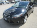 Used 2014 Ford Focus 'GREAT VALUE' LOADED TITANIUM EDITION 5 PASSENGER 2.0L - DOHC.. LEATHER.. HEATED SEATS.. BACK-UP CAMERA.. POWER SUNROOF.. BLUETOOTH SYSTEM.. for sale in Bradford, ON